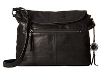 The Sak Esperato Flap Hobo Black Hobo Handbags