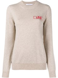 Givenchy Cashmere Love Jumper Nude And Neutrals