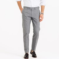 J.Crew Bowery Slim Pant In Brushed Glen Plaid