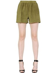 Givenchy Suede Shorts