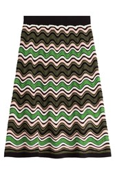 M Missoni Skirt With Cotton And Wool Multicolor