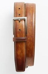 Men's Big And Tall Magnanni 'Catalux' Belt Tobacco