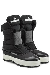 Adidas By Stella Mccartney Quilted Sneaker Boots Black