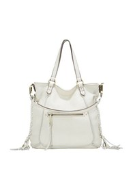 Sanctuary Venice Leather Boho Tote Milk