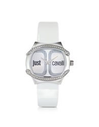 Just Cavalli Born Collection Oblong Logo Watch