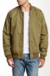 Lucky Brand Divisional Bomber Jacket Green