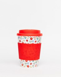 Cath Kidston Ladybird Travel Cup White