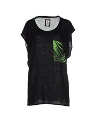 Franklin And Marshall Topwear T Shirts Women Black