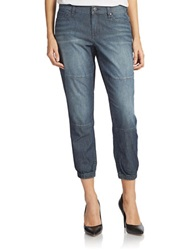 Dkny Lightweight Denim Jogger Jeans Sheer Wash