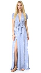 Tularosa Joel Plunge Dress Chambray