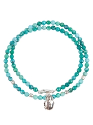Catherine Michiels Beaded Necklace Green