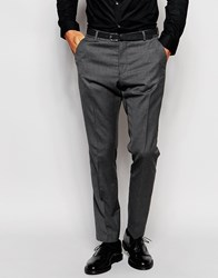 Selected Homme Suit Trousers In Slim Fit Grey