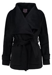 Anna Field Short Coat Black