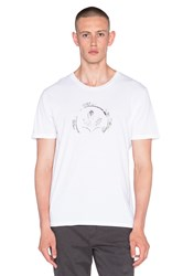 Ever Partial Logo Tee White