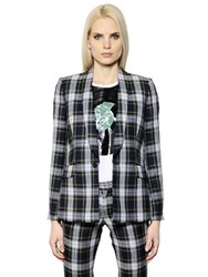 Each X Other Wool Plaid Jacket