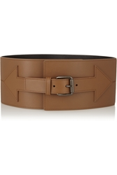 Tomas Maier Arrow Leather Waist Belt