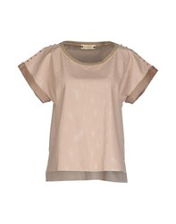 Met And Friends Shirts Blouses Women Light Pink