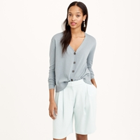 J.Crew Pre Order Pleated Crepe Short