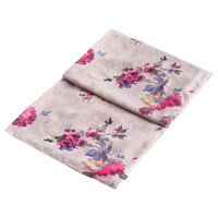 Joules Harmony Floral Scarf Champagne Multi