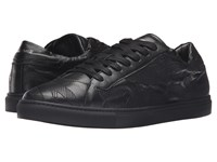 Just Cavalli Embroidered Nappa Leather Sneakers Apple Cinnamon Men's Shoes Brown