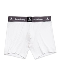 Psycho Bunny Luxe Boxer Briefs White