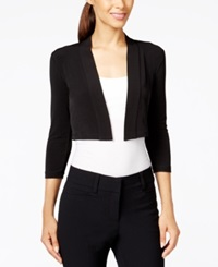 Calvin Klein Three Quarter Sleeve Bolero Cardigan