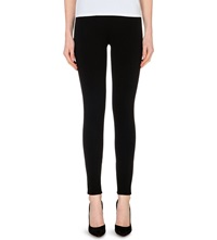 Theory Shawn Stretch Jersey Leggings Black