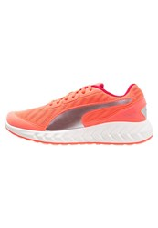 Puma Ignite Ultimate Cushioned Running Shoes Fluo Peach Rose Red Coral