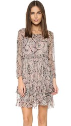 Twelfth St. By Cynthia Vincent Mini Dress Endora Paisley