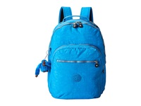 Kipling Seoul Metallic Backpack With Laptop Protection Cerulean Blue Backpack Bags