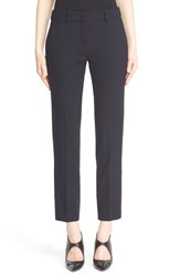 Armani Collezioni Women's Textured Stretch Wool Ankle Pants