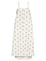 Ellery Banksia A Line Embroidered Tunic Ivory Multi