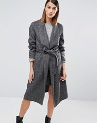 Selected Foby Coat Grey