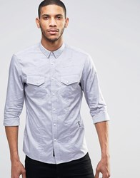 Religion Edit Long Sleeve Shirt Grey