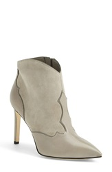 Sam Edelman 'Bradley' Suede And Leather Pointy Toe Boot Women Winter Sky Grey