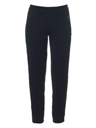 Vince Low Rise Crepe Trousers