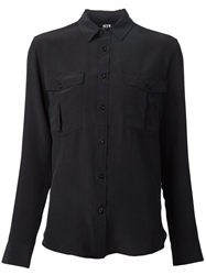 Neuw Chest Pocket Shirt Black