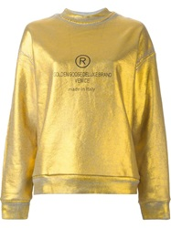 Golden Goose Deluxe Brand Metallic Sweatshirt