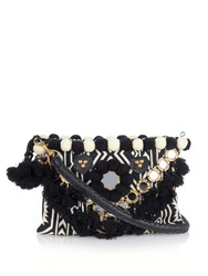 Figue Tribal Embroidered Cross Body Bag