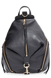 Rebecca Minkoff 'Julian' Backpack Black Black Light Gold