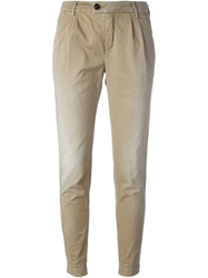 Department 5 Slim Fit Trousers Nude And Neutrals