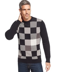Geoffrey Beene Big And Tall Patches Sweater