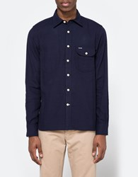 Rogue Territory Jumper Shirt In Neppy Navy