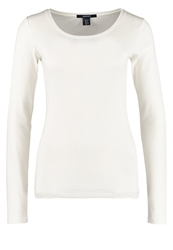 Gant Long Sleeved Top Eggshell Off White