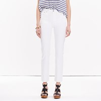 Madewell Cruiser Straight Jeans In White