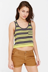 Bdg Striped Pocket Tank Top Grey