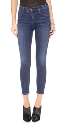 Gold Sign Virtual High Rise Skinny Jeans Zagir