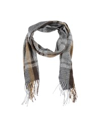 Timberland Accessories Oblong Scarves Men Grey