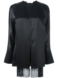 Givenchy Scarf Detail Blouse Black
