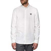 Wood Wood White Timothy Shirt